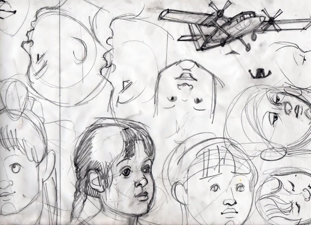 airplane&girl