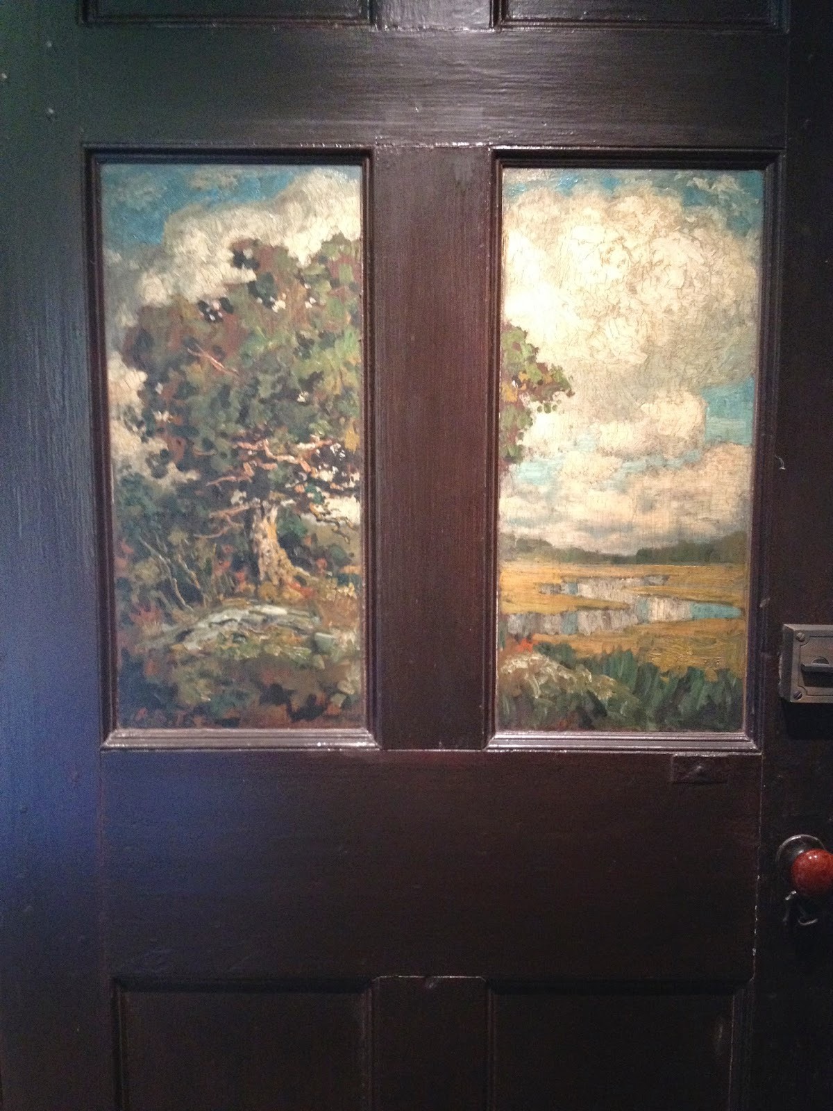 I\u0027m a door painter from way back. I started in the 1970s painting rural trompe l\u0027oeil on close to a dozen barn doors at Doolittle Farm in Shoreham ... & The Painted Door | Ashley Wolff