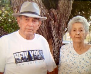 Noé's parents, Amadeo y Manuela Villarreal