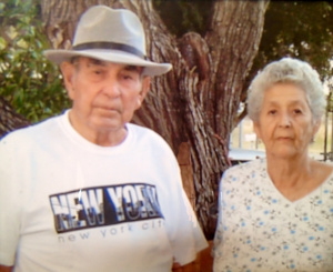 Noé's parents, Amadeo y Manuela Villarreal