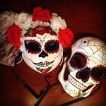 Calavera masks